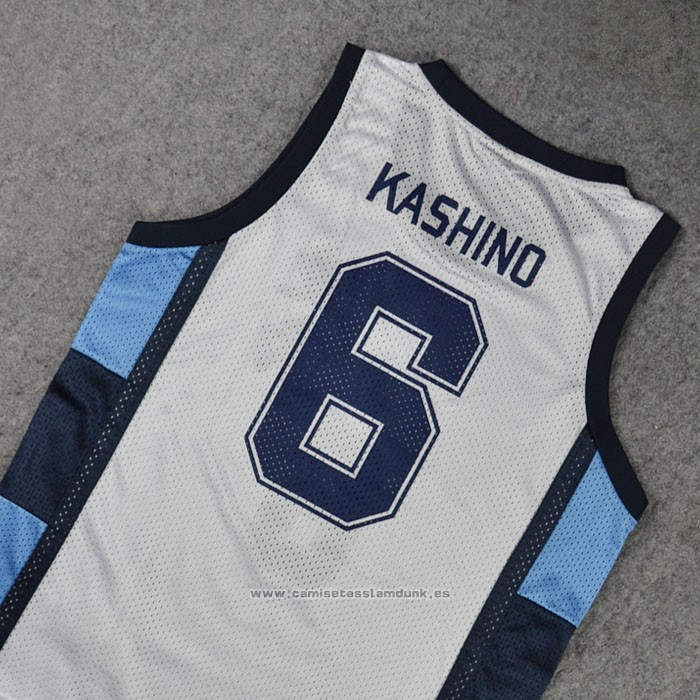 Ryonan Kashino 6 Camiseta Blanco